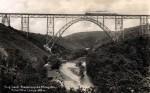 Zug auf Müngstener Brücke, Slg. Michael Tettinger