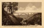 Beliebtes Postkarten-Motiv der Müngstener Brücke, Slg. Michael Tettinger