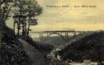 Postkarte Müngstener Brücke mit Diederichstempel, Slg. Michael Tettinger