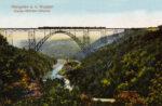 Postkarte Müngstener Brücke 1914, Slg. Michael Tettinger
