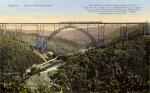 Postkarte Müngstener Brücke mit Schloss Küppelstein, Slg. Michael Tettinger