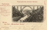 AK Müngstener Brücke 1897, Sgl. Michael Tettinger
