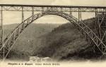 Postkarte von 1906; Müngstener Brücke, Diederichstempel & Schloss Küppelstein, Sgl. Michael Tettinger