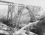 Die fast fertig gestelle Brücke am 26.02.1897, © MAN-Museum und Historisches Archiv