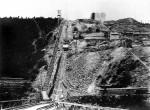 Blick auf den Schaberger Hang mit Drahtseilbahn, © MAN-Museum und Historisches Archiv