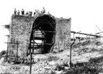 Ansicht der Mauerarbeiten, © MAN-Museum und Historisches Archiv